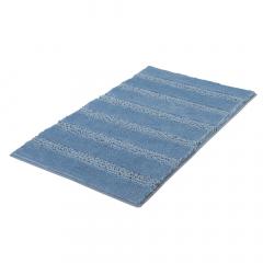 Kleine Wolke Badmat 70 x 120 cm Monrovia Steel Blue