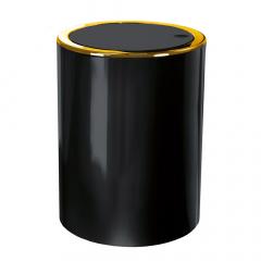 Kleine Wolke Afvalemmer Golden Clap Black