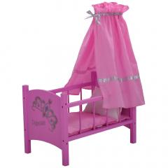 KnorrToys Poppenbed Princess Roze