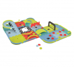 KnorrToys Puzzelmat Create Your Racetrack 87-delig