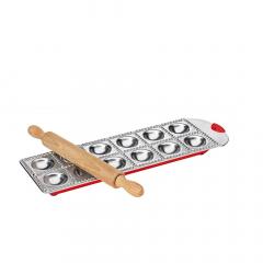 Küchenprofi Ravioliplank Pastacasa Aluminium
