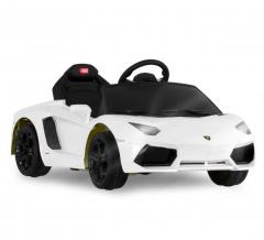 Lamborghini Aventador Voiture Électrique Pour Enfants 6 V Blanc