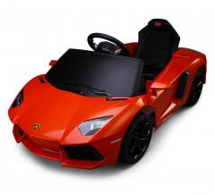 Lamborghini Aventador Voiture Électrique Pour Enfants 6 V Orange