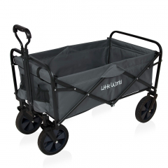 Little World Chariot Pliable Galaxy Gris