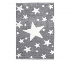 Livone Tapis Happy Rugs Stars Gris - Blanc 160 Cm X 230 Cm