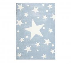 Livone Tapis Happy Rugs Stars Bleu - Blanc 160 Cm X 230 Cm
