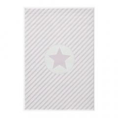 Livone Tapis 120 Cm X 180 Cm Happy Rugs Decostar Rose - Blanc