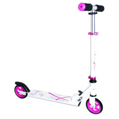 Muuwmi Scooter Vanaf 5 Jaar 125 mm Wit - Roze