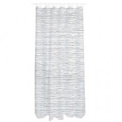 MyHome Douchegordijn 180 x 200 cm Zip Black Stripes