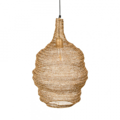 Nesthaus Lampe à Suspension Emma Medium Cuivre