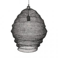 Nesthaus Lampe à Suspension Emma Large Noir