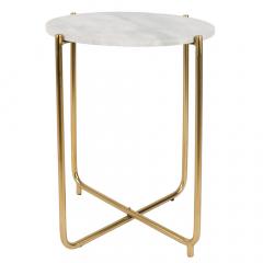 Nesthaus Table Gigogne Ø 44,5 cm Simon Blanc