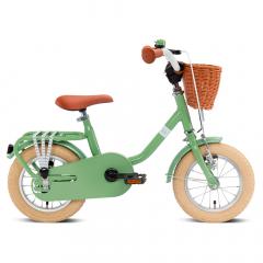 Puky Vélo Enfant À Partir De 3 Ans Steel Classic 12 Retro Vert