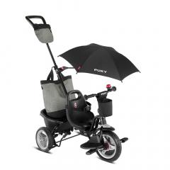 Puky Tricycle à partir de 1,5 Ans Ceety Comfort 4 en 1 Noir