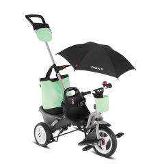 Puky Tricycle à partir de 1,5 Ans Ceety Comfort 4 en 1 Aqua