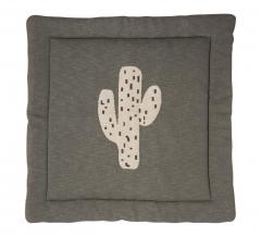 Quax Speelmat & Boxkleed Tricot Cactus - 100 cm x 100 cm