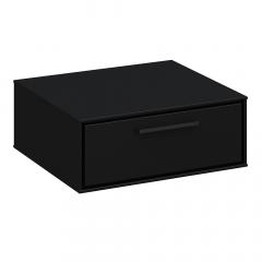 Steens Table De Chevet Suspendue Slimline Noir