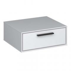 Steens Table de Chevet Suspendue Slimline Blanc