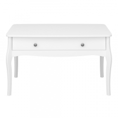Steens Table Basse Baroque Blanc