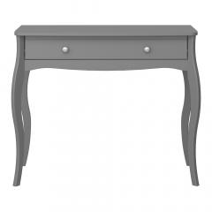 Steens Table Console Baroque Gris Foncé
