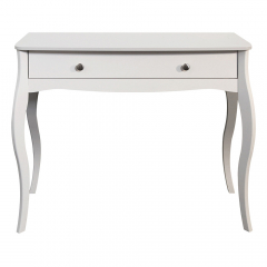 Steens Table Console Baroque Blanc