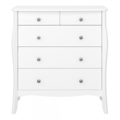 Steens Commode Baroque Wit 2+3 Lades