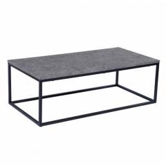 Stozy Table Basse 120 cm Letto Gris Clair