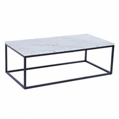 Stozy Table Basse 120 cm Letto Blanc