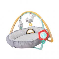 Taf Toys Tapis de Jeu et Nid Bébé Cosy Gym