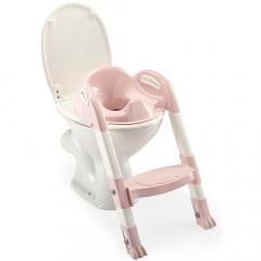 Thermobaby Réducteur De Toilette Avec Marche Kiddyloo Rose