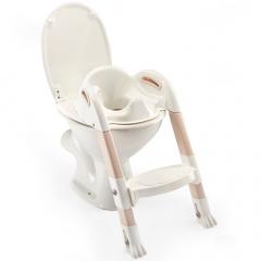 Thermobaby Réducteur De Toilette Avec Marche Kiddyloo Blanc