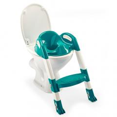 Thermobaby Réducteur De Toilette Avec Marche Kiddyloo Teal