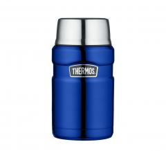 Thermos Foodcontainer King XL Metallic Blauw 0,71L