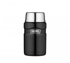Thermos Foodcontainer King XL Mat Zwart 0,71L