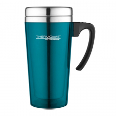 Thermos Mug Isotherme Soft Touch 420 ml Turquoise