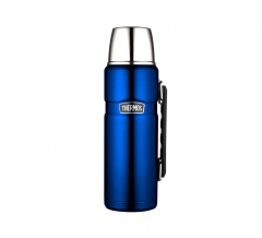Thermos Bouteille Isotherme King Metallic Blue 1,2L