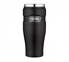 Thermos Thermosbeker King Mat Zwart 0,47L