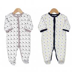 Trois Kilos Sept Pyjama Bébé Set 3 Mois Triangles & Stars