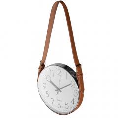 Baytex Horloge Murale Strap Ø 30 Cm Argent