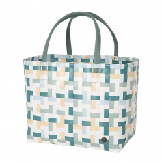 Handed By Shopper Fifty-Fifty Teal Blue Mix