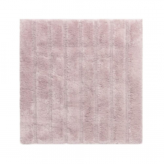 Casilin Tapis de Bidet California 60 cm x 60 cm Misty Pink