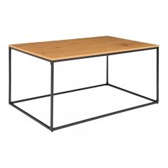 House Collection Table Basse 90 cm Dina Chêne