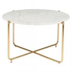 Nesthaus Table Basse Ø 70 cm Simon Blanc