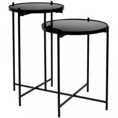 Nesthaus Table Gigogne Lana Noir