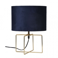 Mysa Lampe de Table Ø 34 cm Runa Bleu