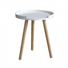 Mysa Table Gigogne Ø 40 cm Viggo Blanc