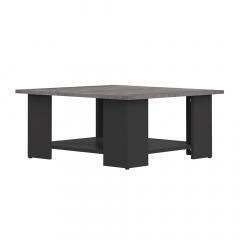 Interia Table Basse Zita Noir - Béton
