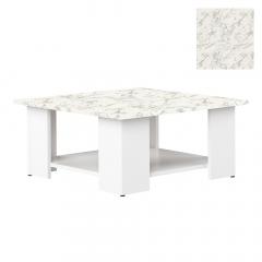 Interia Table Basse Zita Blanc - Marbre