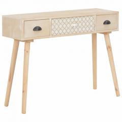 Eunoia Table Console 100 cm Figaro Pin Massif