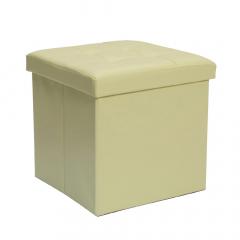 Baytex Pouf + Boîte de Rangement BYT10088 Blanc